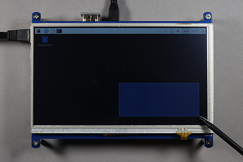 Raspberry Pi + Display Waveshare LCD 1024×600 HDMI Touch