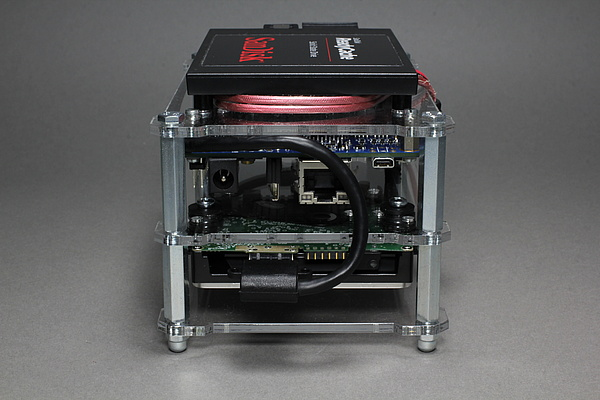 MinnowBoard Turbot mit HDD - OpenDisplayCase - Links